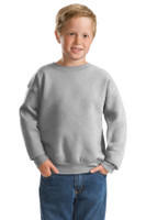 DISCONTINUED Hanes  -  Youth EcoSmart Crewneck Sweatshirt.  P360