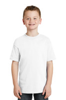 Hanes  -  Youth Beefy-T 100% Cotton T-Shirt.  5380