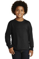 JERZEES Youth Dri-Power  Active 50/50 Cotton/Poly Long Sleeve T-Shirt. 29BL