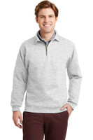 JERZEES SUPER SWEATS - 1/4-Zip Sweatshirt with Cadet Collar.  4528M