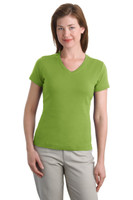CLOSEOUT Port Authority Ladies Modern Stretch Cotton V-Neck Shirt. L516V