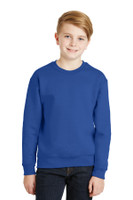 JERZEES - Youth NuBlend Crewneck Sweatshirt.  562B