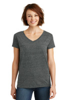 District Made Ladies Cosmic Relaxed V-Neck Tee. DM465