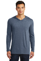 District Made Mens Perfect Tri Long Sleeve Hoodie. DM139