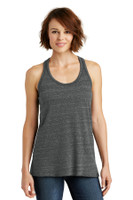 District Made Ladies Cosmic Twist Back Tank. DM466