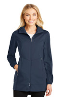 Port Authority Ladies Active Hooded Soft Shell Jacket. L719