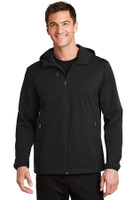Port Authority Active Hooded Soft Shell Jacket. J719