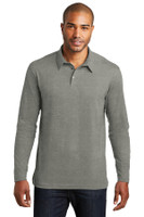 Port Authority Long Sleeve Meridian Cotton Blend Polo. K577LS