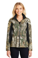 Port Authority Ladies Camouflage Colorblock Soft Shell. L318C