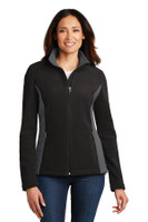 Port Authority Ladies Colorblock Value Fleece Jacket. L216