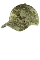 Port Authority Digital Ripstop Camouflage Cap. C925