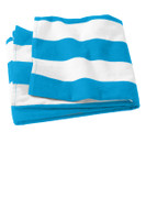 Port & Company Cabana Stripe Beach Towel. PT43