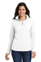 Port Authority Ladies Pinpoint Mesh 1/2-Zip . L806
