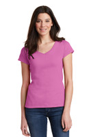 Gildan Softstyle Junior Fit V-Neck T-Shirt. 64V00L