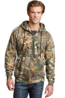 Russell Outdoors Realtree Full-Zip Hooded Sweatshirt. RO78ZH