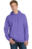 Port & Company Pigment-Dyed Pullover Hooded Sweatshirt. PC098H