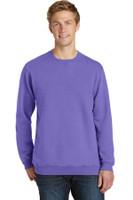 Port & Company Pigment-Dyed Crewneck Sweatshirt. PC098