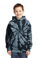 Port & Company Youth Tie-Dye Pullover Hooded Sweatshirt. PC146Y