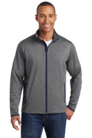 Sport-Tek Sport-Wick Stretch Contrast Full-Zip Jacket.  ST853