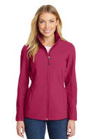 Port Authority Ladies Cinch-Waist Soft Shell Jacket. L334