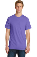 Port & Company Pigment-Dyed Pocket Tee.  PC099P