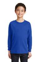 Gildan Youth Heavy Cotton 100% Cotton Long Sleeve T-Shirt. 5400B