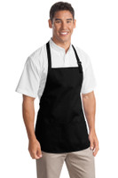Port Authority Medium Length Apron with Pouch Pockets.  A510
