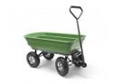 Q Garden QGPGC Poly Dump Cart