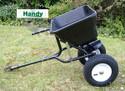 Handy Towed 80lb Spreader for Garden Tractor