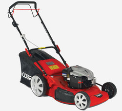 The Cobra M56SPB Petrol Lawnmower