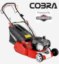 "Cobra RM40SPB 16"" Petrol Rear Roller Lawnmower"