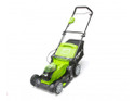 Greenworks GWG40LM41K2X 40v Cordless Lawn Mower with 2 x 2Ah Batteries & Charger