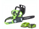 Greenworks 30cm (12¶?) 40V Chainsaw with 2Ah Battery & Charger G40CS30K2
