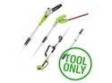 Greenworks G40PSH 40v Cordless Long Reach Hedge Trimmer + Pruner (Tool Only)