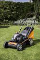 Yard Force GM YFGMB46B Petrol Lawnmower 46cm Cut 3 in 1 Self Propelled Key Start