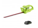 Greenworks Deluxe 24v 47cm Hedge trimmer (GWG24HTK2) with Battery and Charger