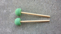 KaKesa Steel Drum Pan Mallets Sticks Wood Econo - TnrBass
