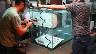 Glass Tank Hole Drilling Service