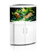 Juwel Trigon 190 Corner Aquarium and Cabinet White