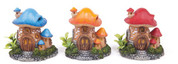 Mushroom House W/P Small Orange