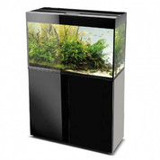 AquaEl Black Glossy 80 Aquarium and Cabinet