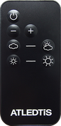 ATLEDTIS R-1 REMOTE CONTROL DIMMER (FOR E6, E6+ & COOKIE)