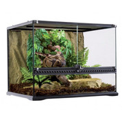 Exo Terra All Glass Medium Wide Terrarium 60x45x45cm