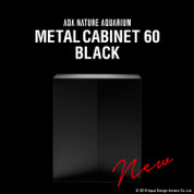 ADA Metal Cabinet 60 Black  (Limited Edition)