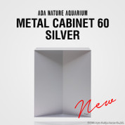 ADA Metal Cabinet 60 Silver