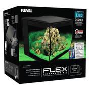 Fluval Flex Aquarium Unit 57 litre Black