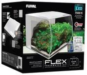 Fluval Flex Aquarium Unit 57 litre White