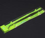 Plant  Curve Mirror Surface Tweezers 48 CM