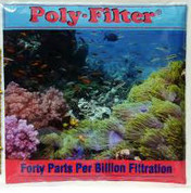 "Poly Filter Pad 12""x12"" Large"