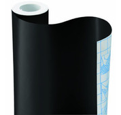 Solid BLACK Vinyl Contact Paper Sheet 1000MM Lx 600MM H